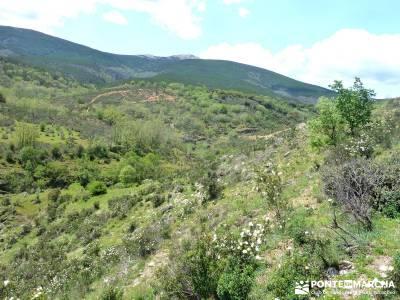 Cascadas del Aljibe; fotosenderismo; viajes en marzo; hiking;botas montaña madrid